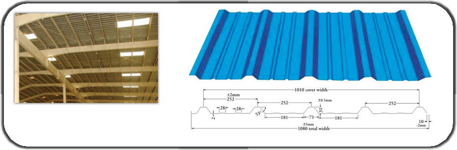 Galvalume Sheets, Pre Engineered Metal Building Structure- Exporter