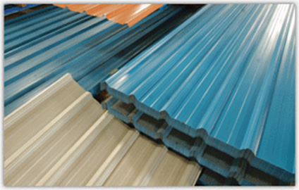 Business listings of Colour Coated Roofing Sheet, Coating Patra manufacturers, suppliers and exporters in surat