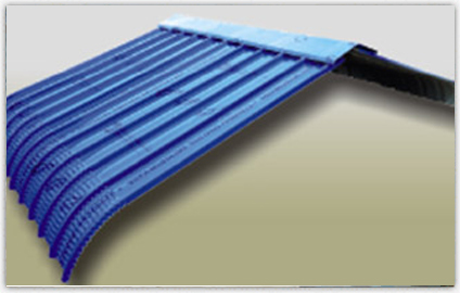 Crimp Sheet Amp Accessories Industrial Roofing Sheets Surat