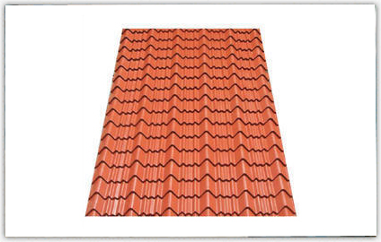 Best Manufacturer of Tile Profile Roofing Sheets offered by Bhagwati Steel Building
