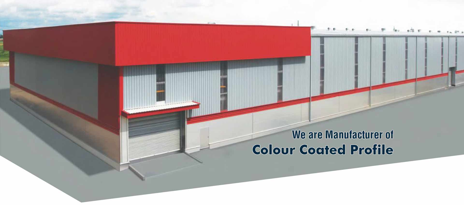 We are leading suppliers of Industrial Roofing, Color Coated Roofing Sheets in surat