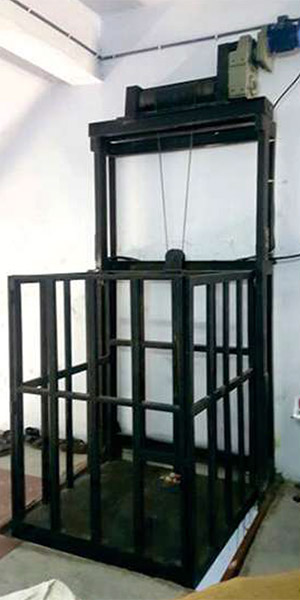 Bhagwati Steel Building - We ranked top by manufacturing superior quality of Goods Lift Manufacturer
