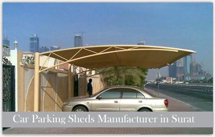 Car Parking Sheds Manufacturer in Surat