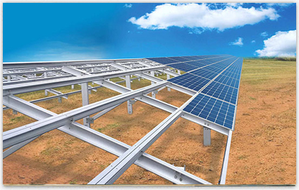 solar module mounting structures Supplier in Surat